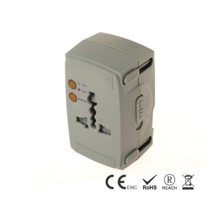 智慧旅行转换器支援10安培设备充电 - 旅用转换插接器