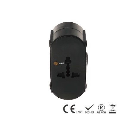 Perfect Travel Plug with powerful 10A max. spec.