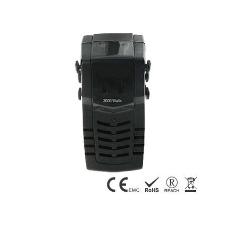 플러그가 있는 2000W 220V ~ 110V 강압 컨버터 - 여행 변환기