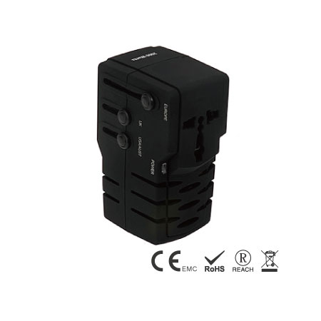 50W Power Travel Converter with universal plugs