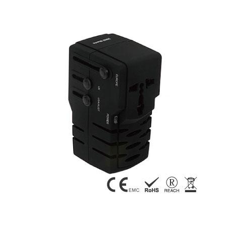 멀티 플러그가 있는 2000W 범용 전압 변환기 - 여행 변환기