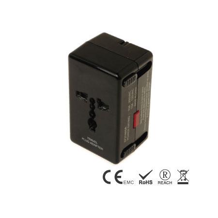 Einzigartiges Reiseladegerät mit LN-Überspannungsschutz - Reise-Adapter