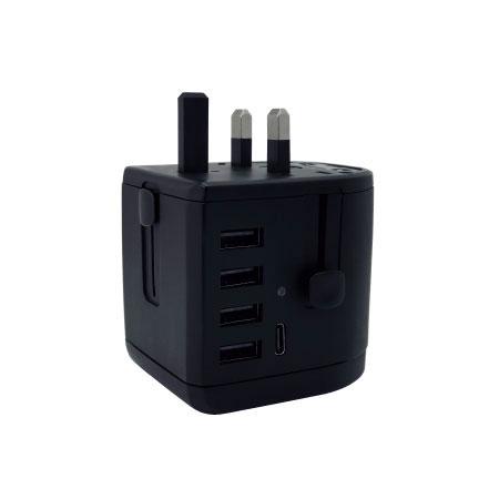 Type C Universal Travel Adapter - UK Plug
