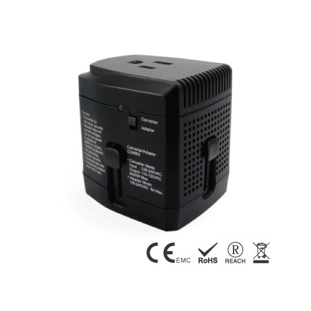 Step Down 220V to 110V Travel Converter and Adaptor - Travel Converter and Adapter