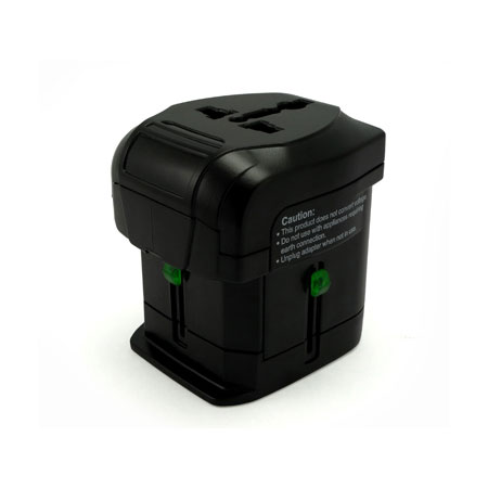 Universal Travel Adapter Front Side