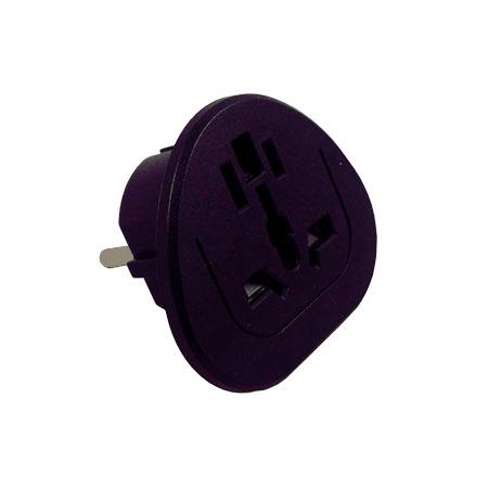 Multi-Nation Travel Adapter (Grounded Plug)