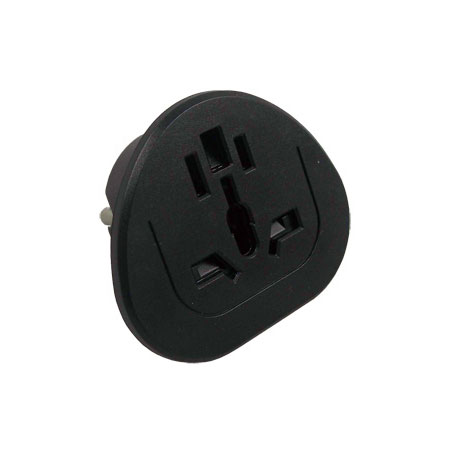 Universal Adapter Charger (Grounded Plug)