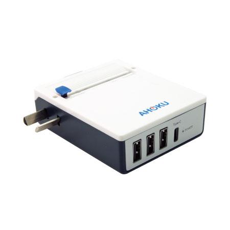 超薄全球通用旅行充電器澳規插腳, 適用於澳洲, 紐西蘭, 中國等國家
