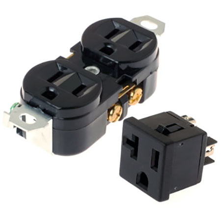 AC Duplex Receptacle Socket - AC Wall Socket