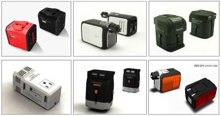 Huimin's Portfolio (Utility design for Universal Travel Adapter).