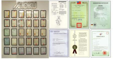 Международные патенты на уникальные дизайнерские изделия.
