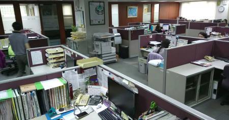Oficina de I + D de Taipei.