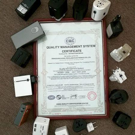 歐格從1997年取得ISO9001管理認證至今,秉持永續經營客戶滿意精神。