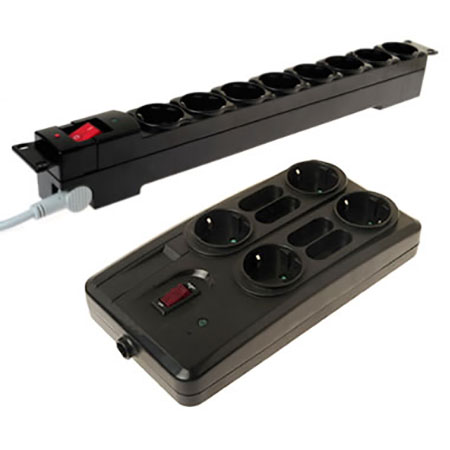 ITALY Power Strip - Italy Surge Power Strip