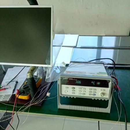 Agilent 34970データ取得機器(温度上昇テスト用)。
