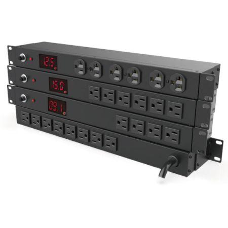 PDU с измерением - Текущий дисплей PDU