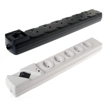 In Swiss and Australia, New Zealand Surge Power Strip - Swiss, Australia Power Strip