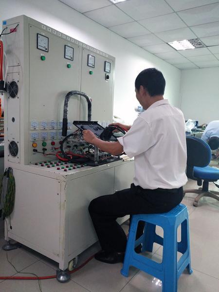 IPQC 패널 테스트