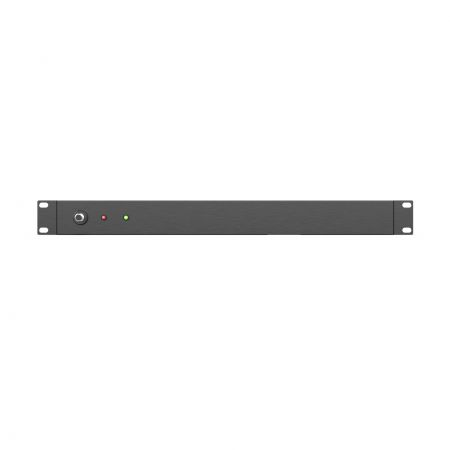 Front side, CB and LED on horizontal PDU for cabinet