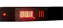 Power Current meter; threshold alerts to stay safety.