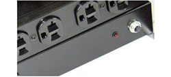 Equipped with circuit breaker for overload protection.