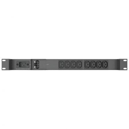 """19""""C13 IEC PDU with 2 Pole switch"""