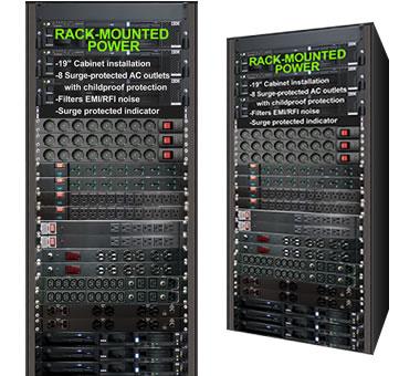 "U Horizontal 19"" Rackmount Installation"