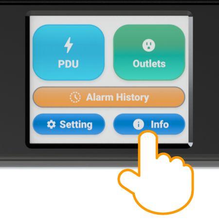 Цветной сенсорный экран