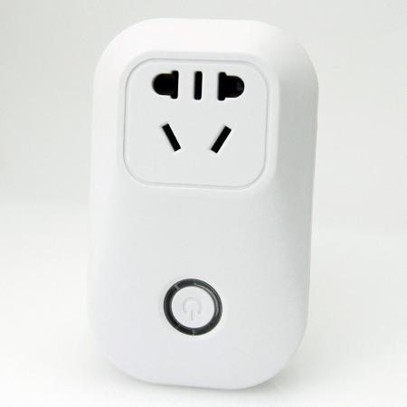 WiFi無線網路智慧插座開關 - 無線網路智慧插座-使用APP來控制家庭設備