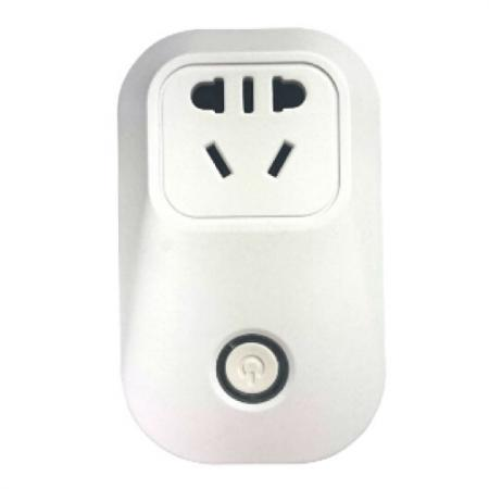 Smart plug by APP remotely controlled.