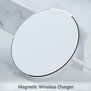 磁吸無線充電器 - 磁吸超薄無線充電
