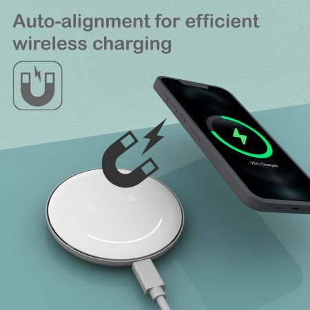 Qi-Certified Fast wireless charger