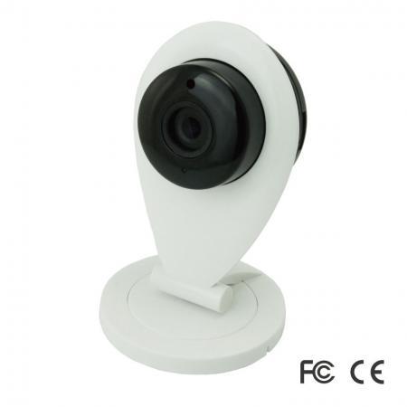 智慧居家安全防護系統- 智能網路攝影機 - 當感測器或是攝影機偵測到事件時,系統會即時發送推播通知到手機上通知使用者