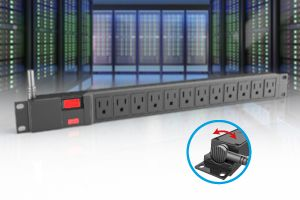 12 Outlets Rack Mounted PDU
