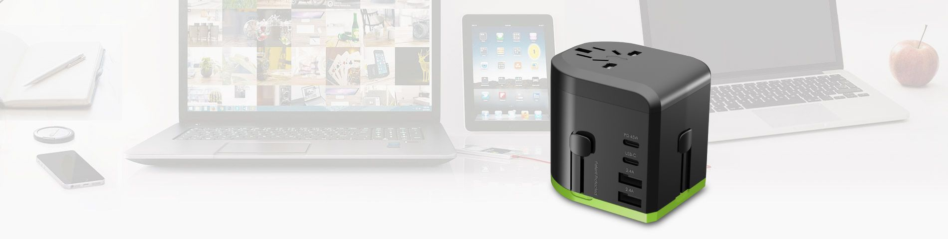 45W PD TRAVEL ADAPTER Fast Charging