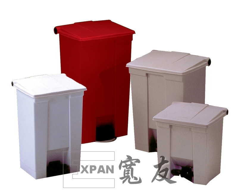 Step-On Receptacle 30L RED - Step-On Receptacle 30L RED (8 GAL)