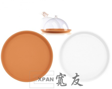 EX-0144 Displaying plate( veined pattern) - EX-0144 Displaying plate( veined pattern)
