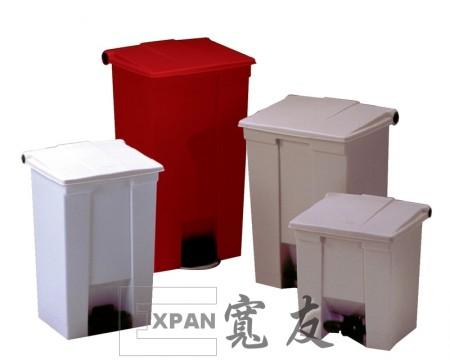 Step-On Receptacle 30L RED