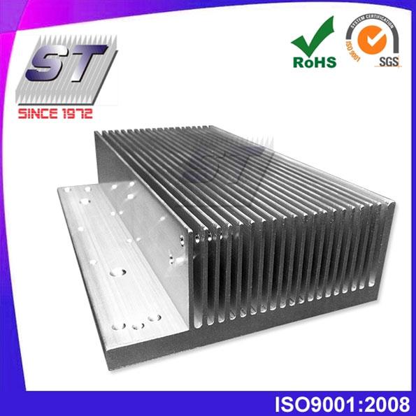 Disipador de calor extruido de aluminio-tamaño pequeño