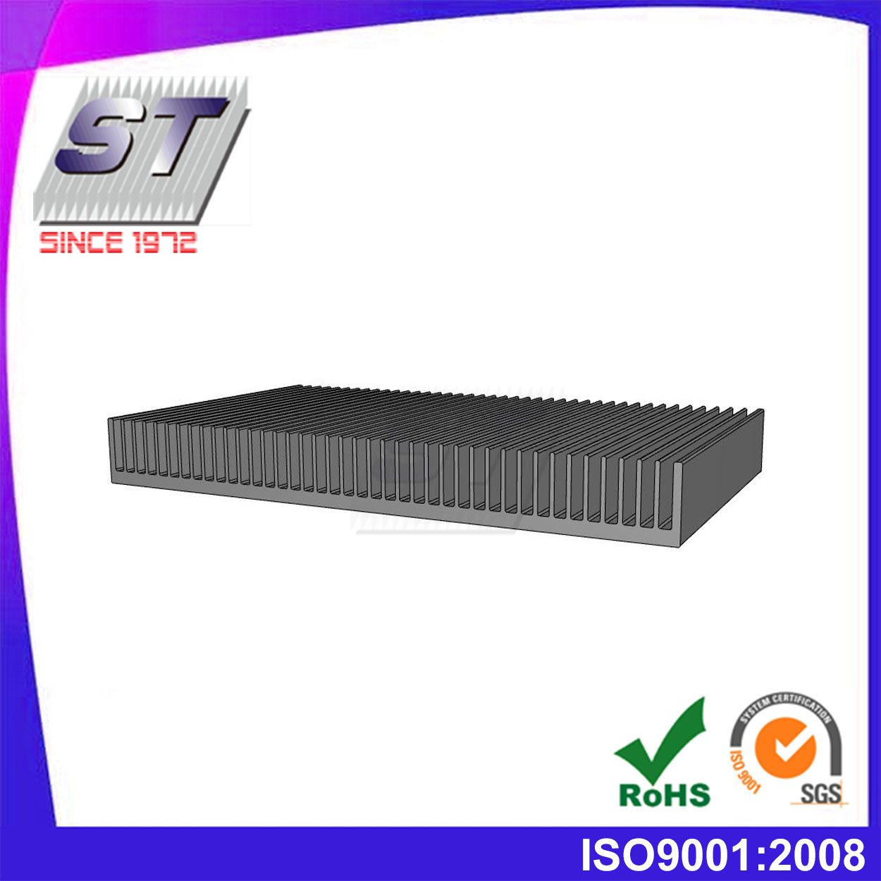 A078鋁擠型散熱器