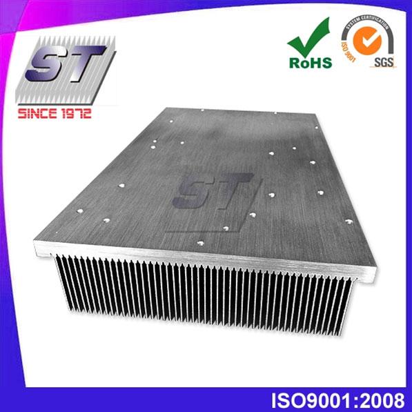 Aleta de inserción de aluminio Uso del elevador del disipador de calor