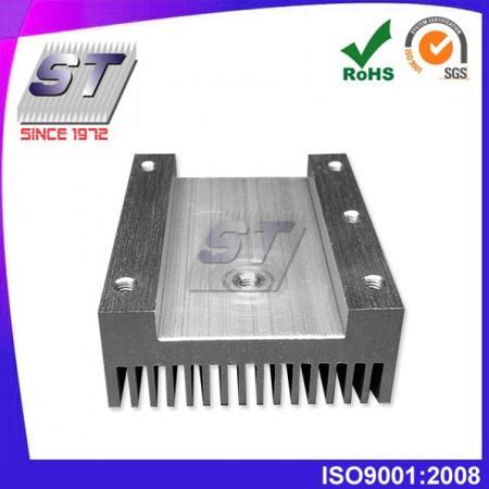 W40.0mm × H19.5mm 鋁製散熱片