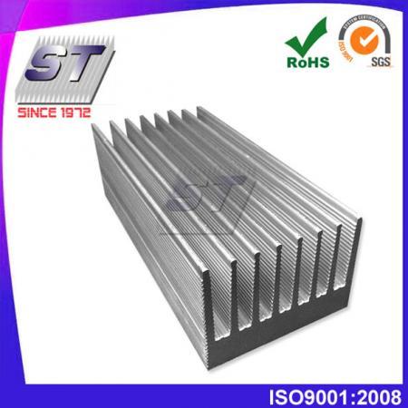 Koellichaam voor elektronica-industrie 56.5 mm × 40,0 mm