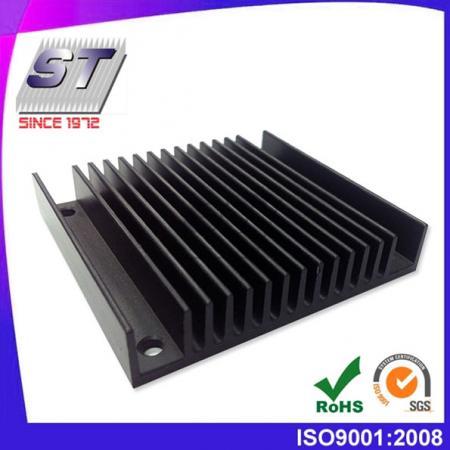 W146.0mm × H12.14mm 양극 산화 알루미늄 압출 방열판