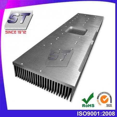 W113.0mm × H35.0mm 알루미늄 압출 핀