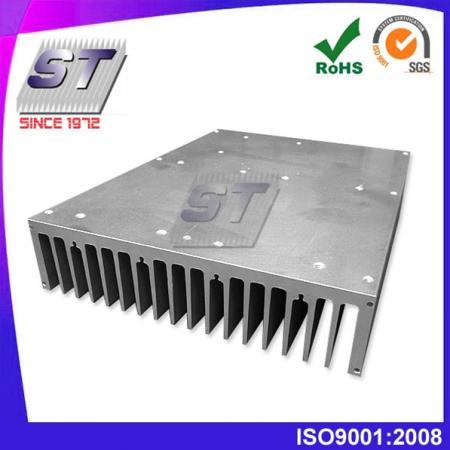 W180.0mm × H44.0mm 대형 방열 알루미늄 압출