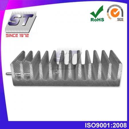 Disipador de calor para la industria de las telecomunicaciones 50,0 mm × 11,5 mm