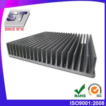 W200.0mm × H40.0mm Industrial Aluminum Heat Sink