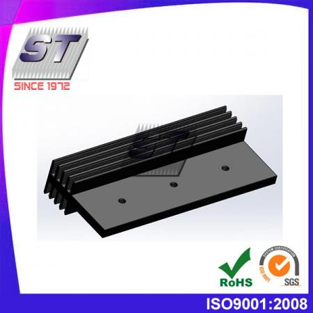 Disipador de calor para sistema de prueba 47,65 mm × 25,0 mm