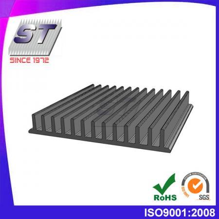 Dissipador de calor para iluminação LED industrial 105,0 mm × 15,0 mm
